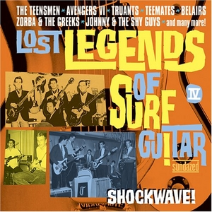 Lost Legends Of Surf Guitar: Shockwave album cover