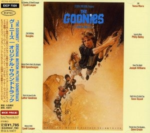 The Goonies: Original Motion Picture Soundtrack (Import) album cover