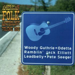 American Folk Anthology, Vol.1 album cover