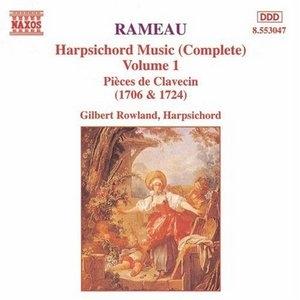 Rameau: Harpsichord Music Vol.1 album cover