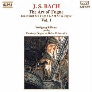 JS Bach: The Art Of Fugue Vol.1 album cover