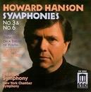 Hanson: Symphonies Nos.3 ... album cover