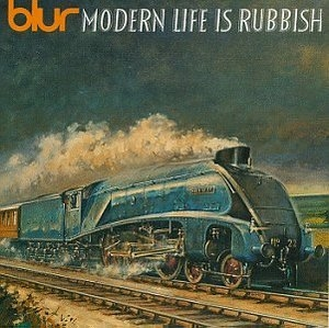Modern Life Is Rubbish album cover