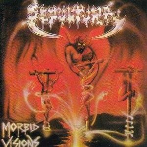 Morbid Visions (EP)~ Bestial Devastation (EP) album cover