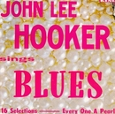 John Lee Hooker Sings Blu... album cover