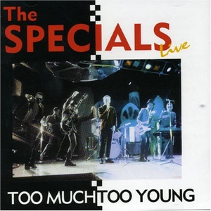 Live: Too Much Too Young album cover