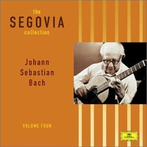 The Segovia Collection Vol.4: Johann Sebastian Bach album cover