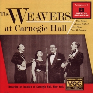 The Weavers At Carnegie Hall (Live) album cover