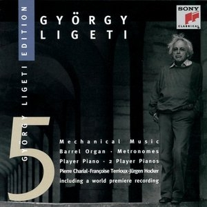 Ligeti-Mechanical Music album cover