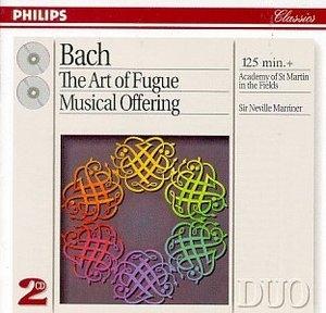 JS Bach: Art Of Fugue~ Musical Offering album cover