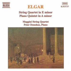 Elgar: String Quartet In E Minor, Piano Quintet In A Minor album cover