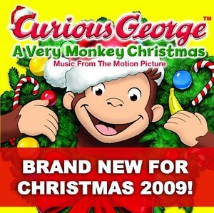 Curious George: A Very Monkey Christmas (Music From The Motion Picture) album cover