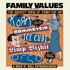 Family Values Tour '98 album cover