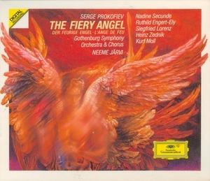 Prokofiev: The Fiery Angel album cover