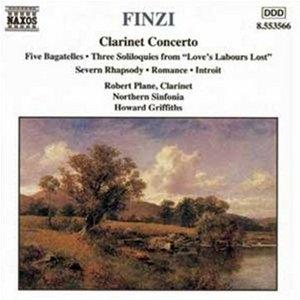 Finzi: Clarinet Concerto album cover