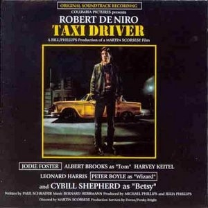 Taxi Driver: Original Soundtrack Recording album cover