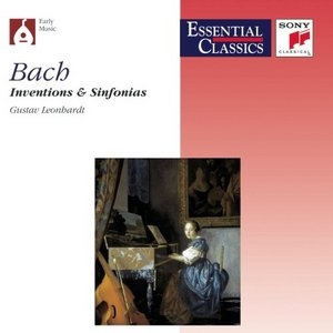 Bach: Inventions And Sinfonias album cover
