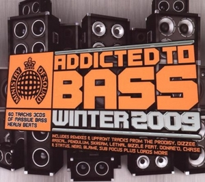Addicted To Bass: Winter 2009 (Ministry Of Sound) album cover