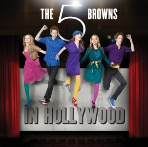 The 5 Browns In Hollywood album cover