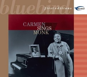 Carmen Sings Monk album cover