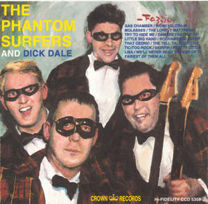 The Phantom Surfers And Dick Dale album cover