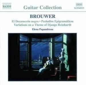 Brouwer: Guitar Music, Vol.2 album cover