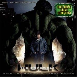 The Incredible Hulk: Original Motion Picture Score album cover