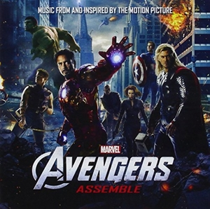 Avengers Assemble (Music From And Inspired By The Motion Picture) album cover