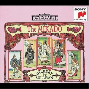 Gilbert & Sullivan: The Mikado album cover