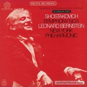 Shostakovich: Symphony No.5 album cover