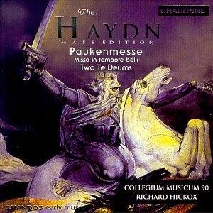 Haydn-Paukenmesse Etc album cover
