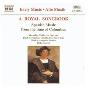 A Royal Songbook: Spanish Music From The Time Of Columbus album cover