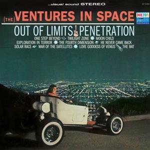 The Ventures In Space (Reissue) album cover
