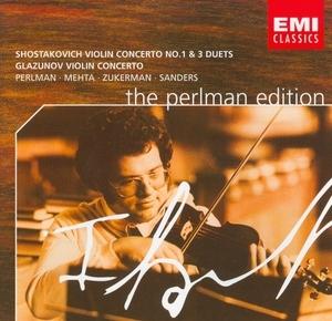 Shostakovich: Violin Concerto No.1 & 3 Duets, Glazunov: Violin Concerto album cover