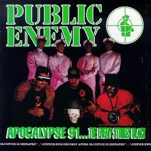 Apocalypse 91-The Enemy Strikes Black album cover