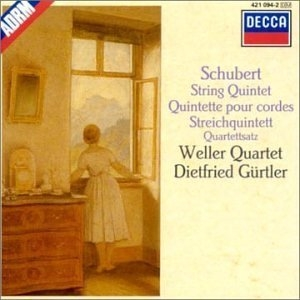 Schubert: String Quintet album cover