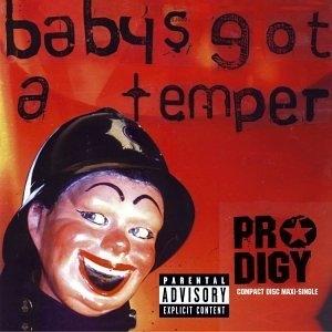 Baby's Got A Temper (Single) album cover