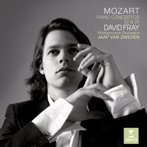 Mozart: Piano Concertos 22 & 25 album cover