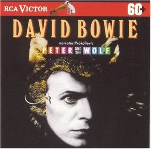 David Bowie Narrates Prokofiev's Peter and the Wolf  album cover