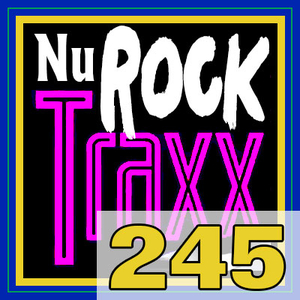 ERG Music: Nu Rock Traxx, Vol. 245 (August 2019) album cover