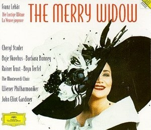 Lehar-The Merry Widow album cover