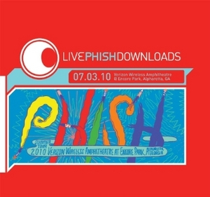 Live Phish: 7-3-10 Verizon Wireless At Encore Park album cover