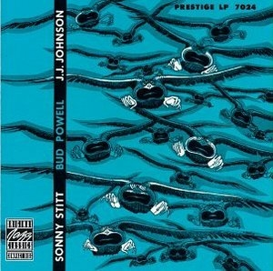 Sonny Stitt, Bud Powell, JJ Johnson album cover