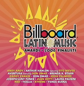 Billboard Latin Music Awards: 2006 Finalists album cover