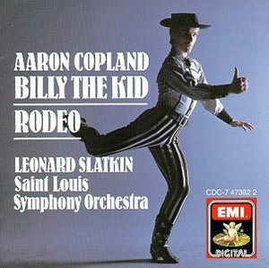 Copland: Billy The Kid~ Rodeo album cover