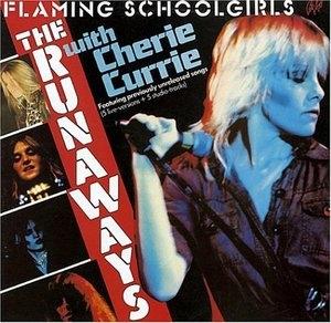 Flaming Schoolgirls album cover