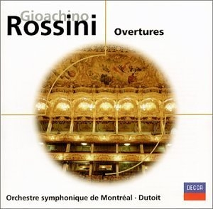 Rossini: Overtures album cover