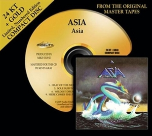Asia (Limited Gold Edition) album cover