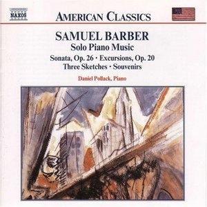 Barber: Solo Piano Music album cover