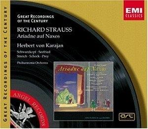Strauss: Ariadne Auf Naxos album cover
